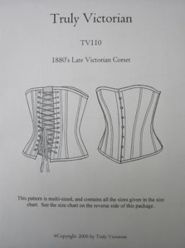 TV110 - Victorian Corset Pattern