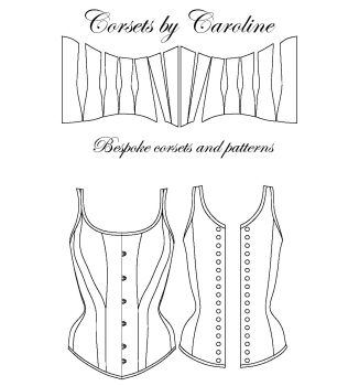Celia Overbust Corset pattern