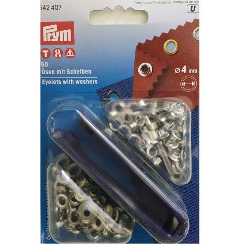 4mm metal eyelets