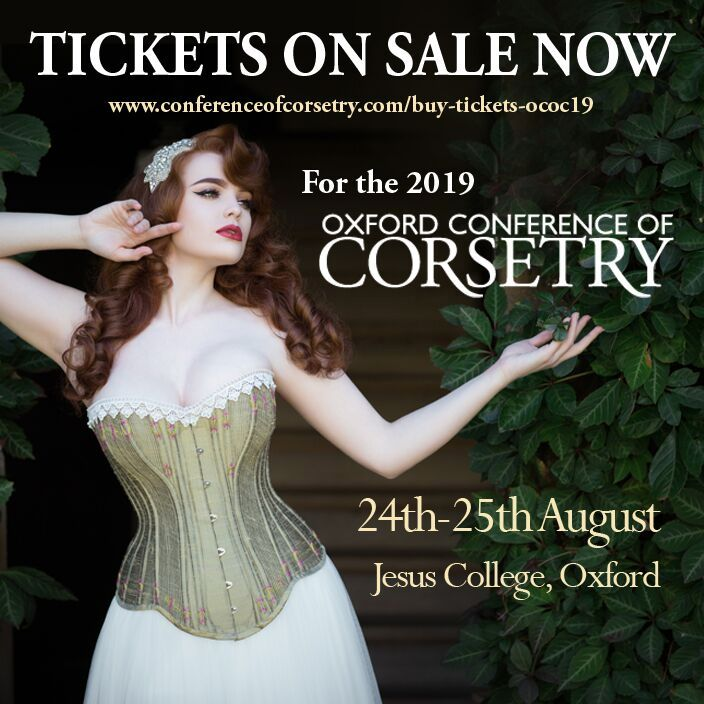 oxford conference of corsetry tickets