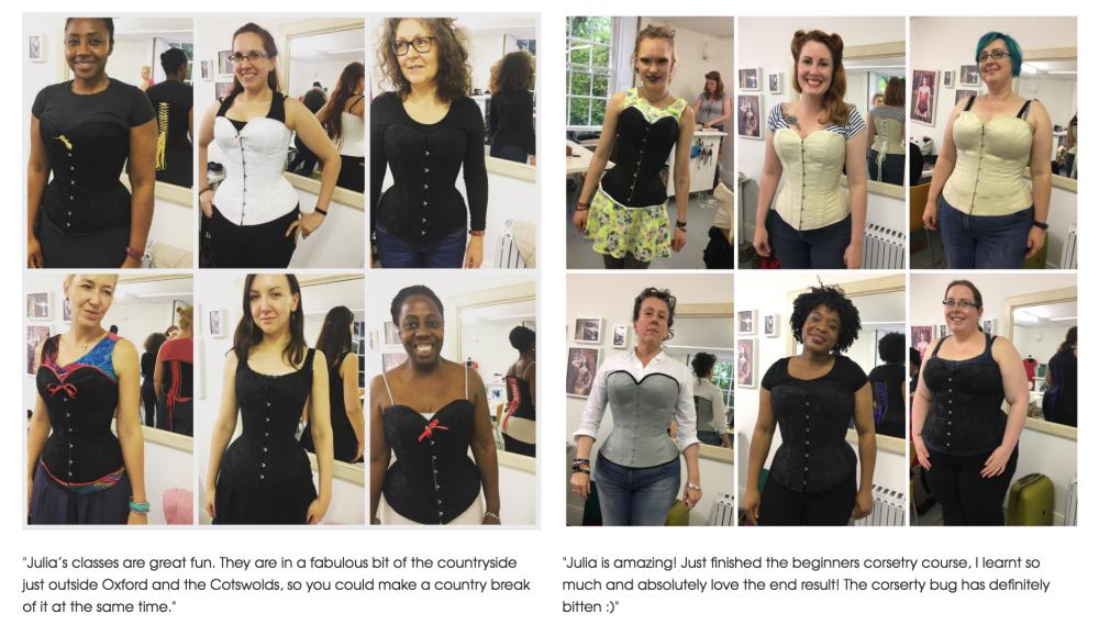 online corset making classes
