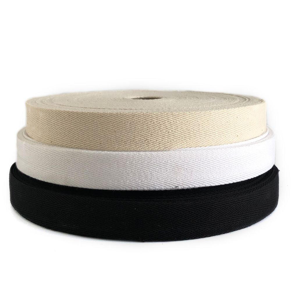 Herringbone tape 25mm - whole roll