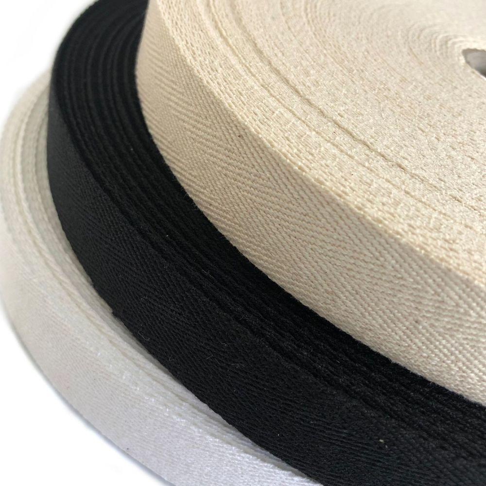 Cotton twill tape - 25mm