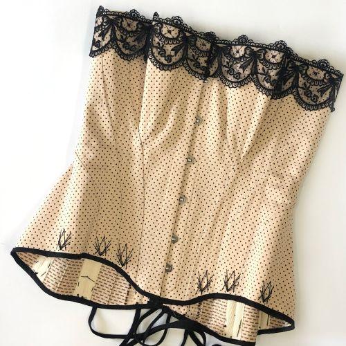 Sew Curvy Edwardian corset