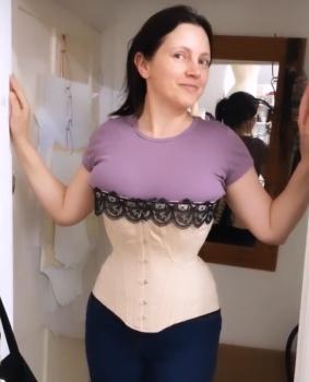 Edwardian corset pattern prior attire