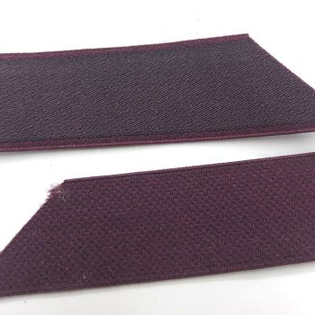 Plush elastic - purple