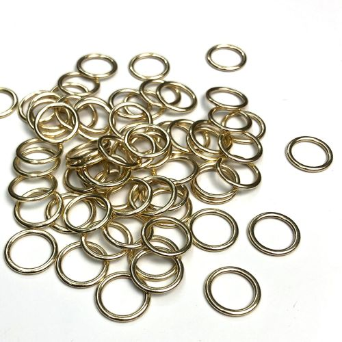 Lingerie rings - 10mm gold