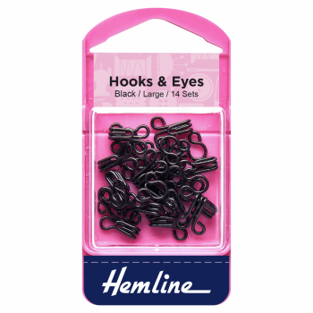 Hooks and eyes size 3