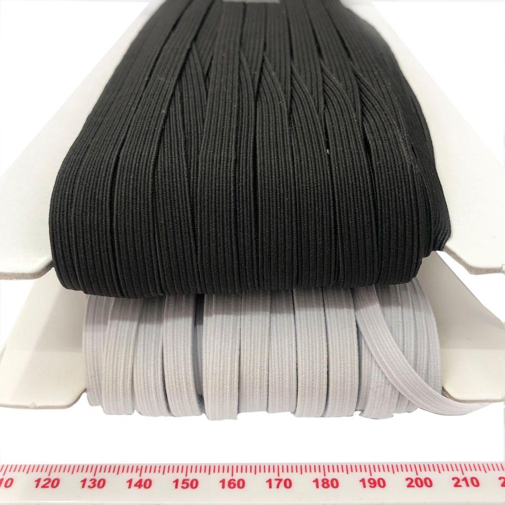 Boil proof elastic - 8mm