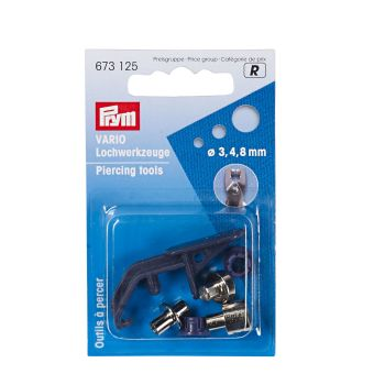 Piercing tools for Prym eyelet pliers
