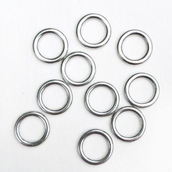 Lingerie rings - 5mm silver