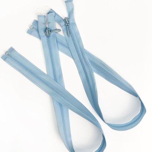 blue dressmaking zip
