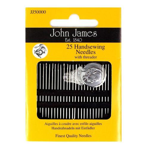 25 John James needles