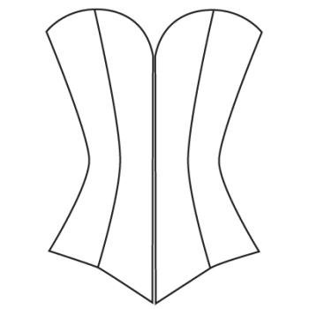 custom corset pattern