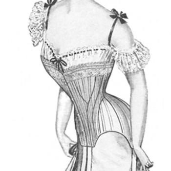 1903 Edwardian Corset pattern