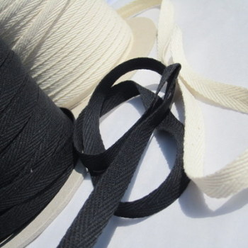 Cotton twill tape - 10mm