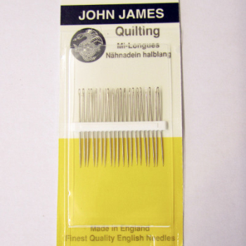 John James quilters size 8