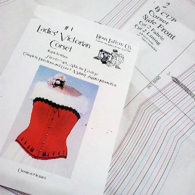 Bijoux Corset Pattern