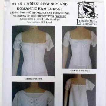Regency Corset Pattern