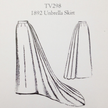 TV298 Unbrella skirt pattern
