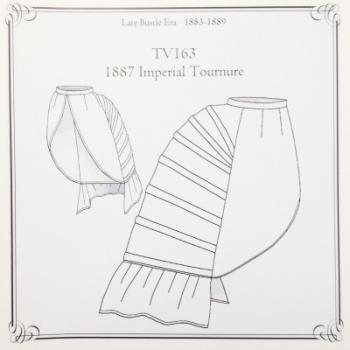 Imperial Tournure 1887