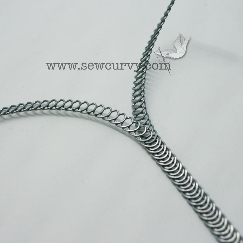 spiral steel boning