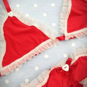 rosiered bikini