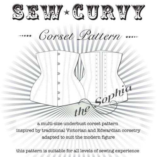 Modern underbust corset pattern