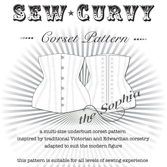 Sophia underbust corset pattern