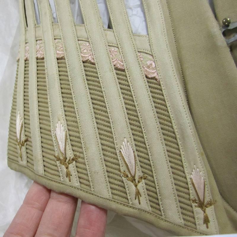 corset flossing sample
