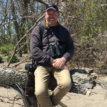 Nick at Point Pelee 2016