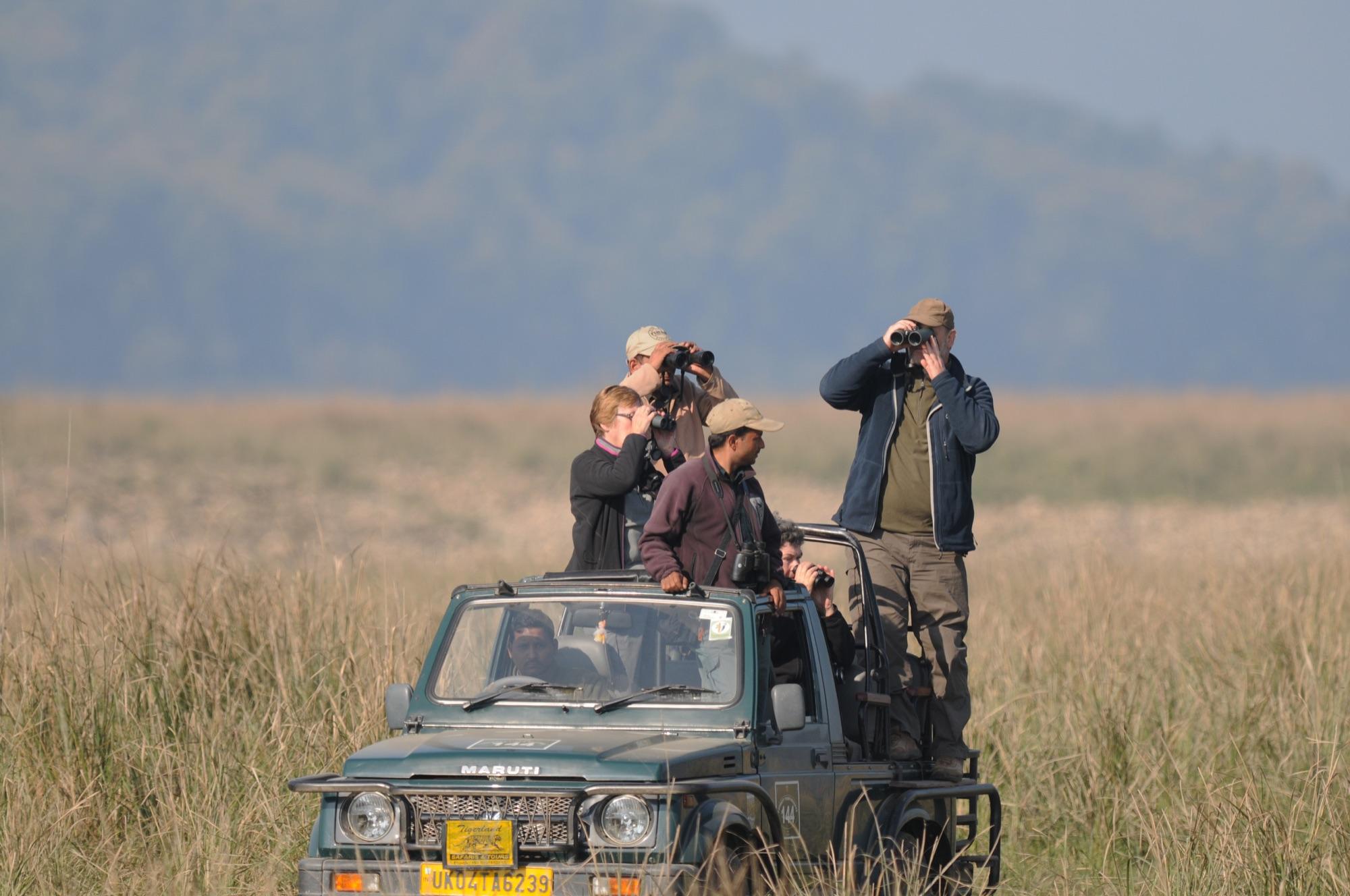 birding at corbett