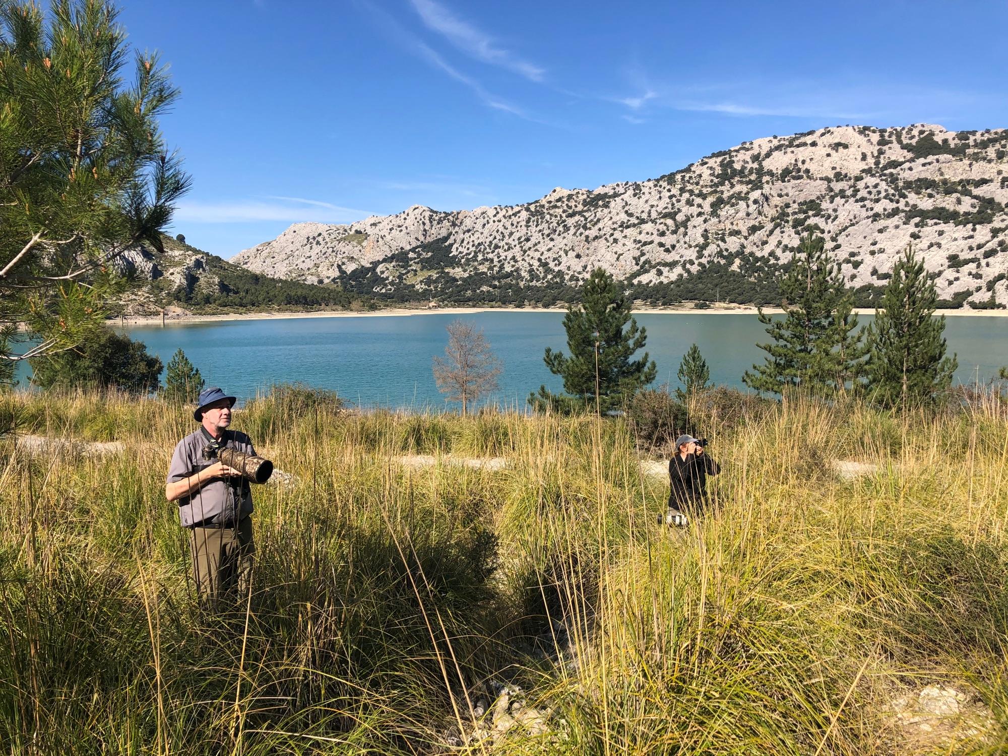 Birding at Cuber Reservoir