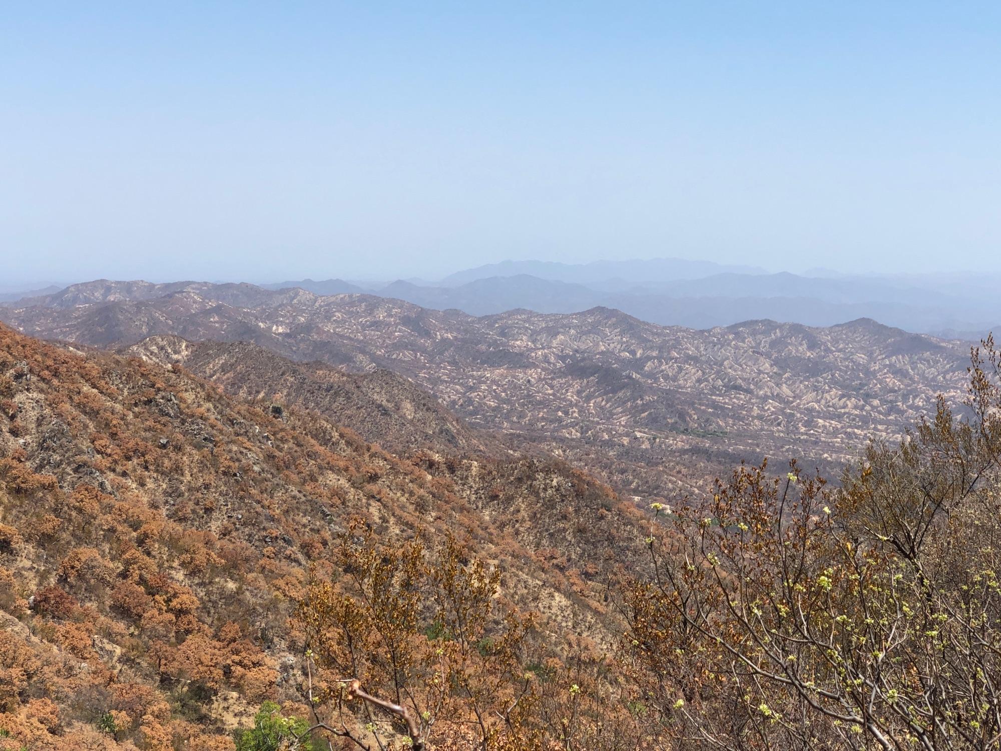 La Laguna Mountains