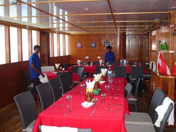 MV Ari Queen Dining Room