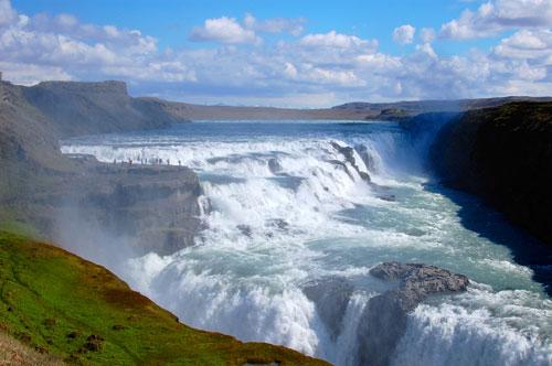 Gullfoss by Iceland Naturalist