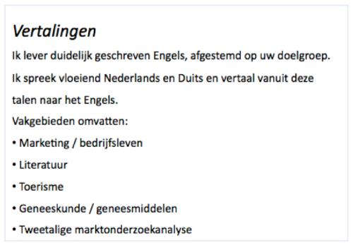 Info1 NL
