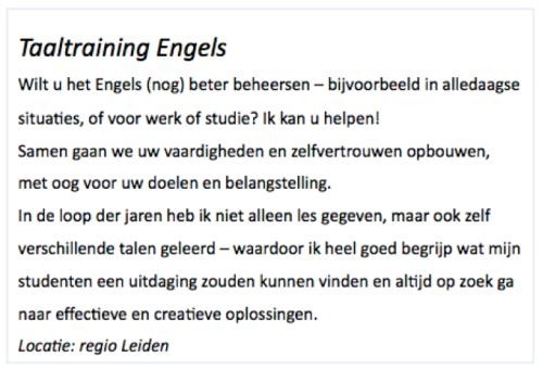 Info2 NL