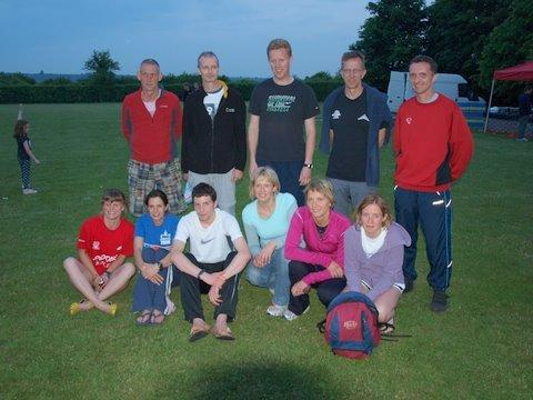 South Downs Relay teams 2010