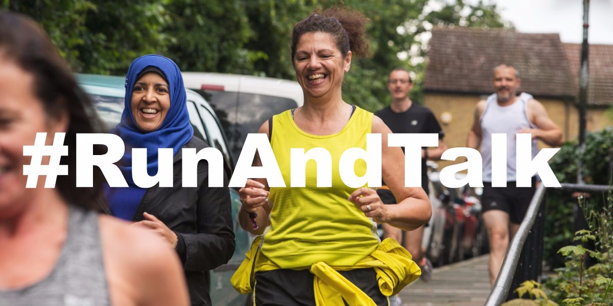 England Athletics Run and Talk campaign