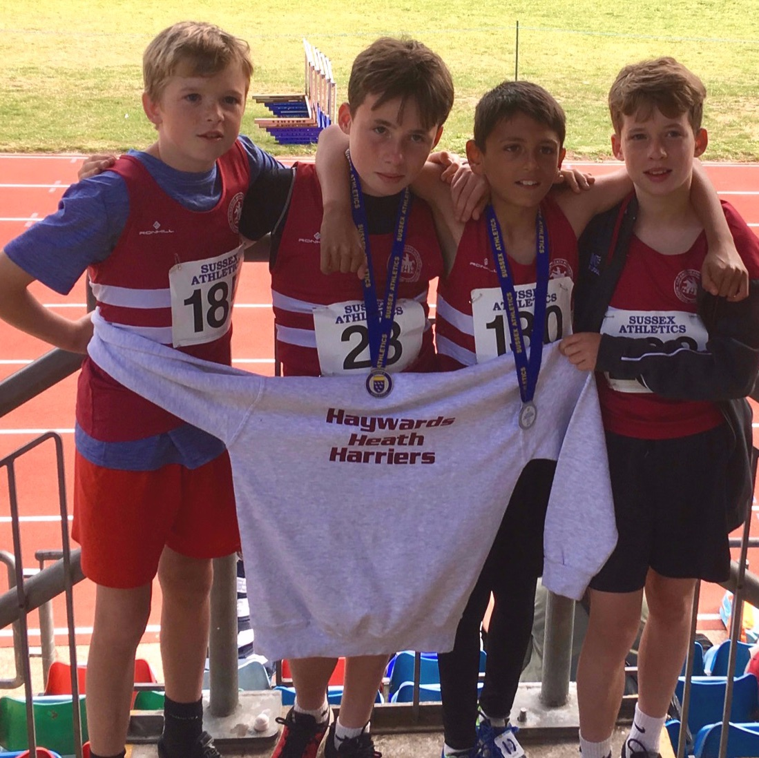 Junior Harriers U13 Sussex Champs