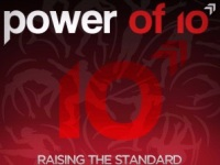 Power of ten logo