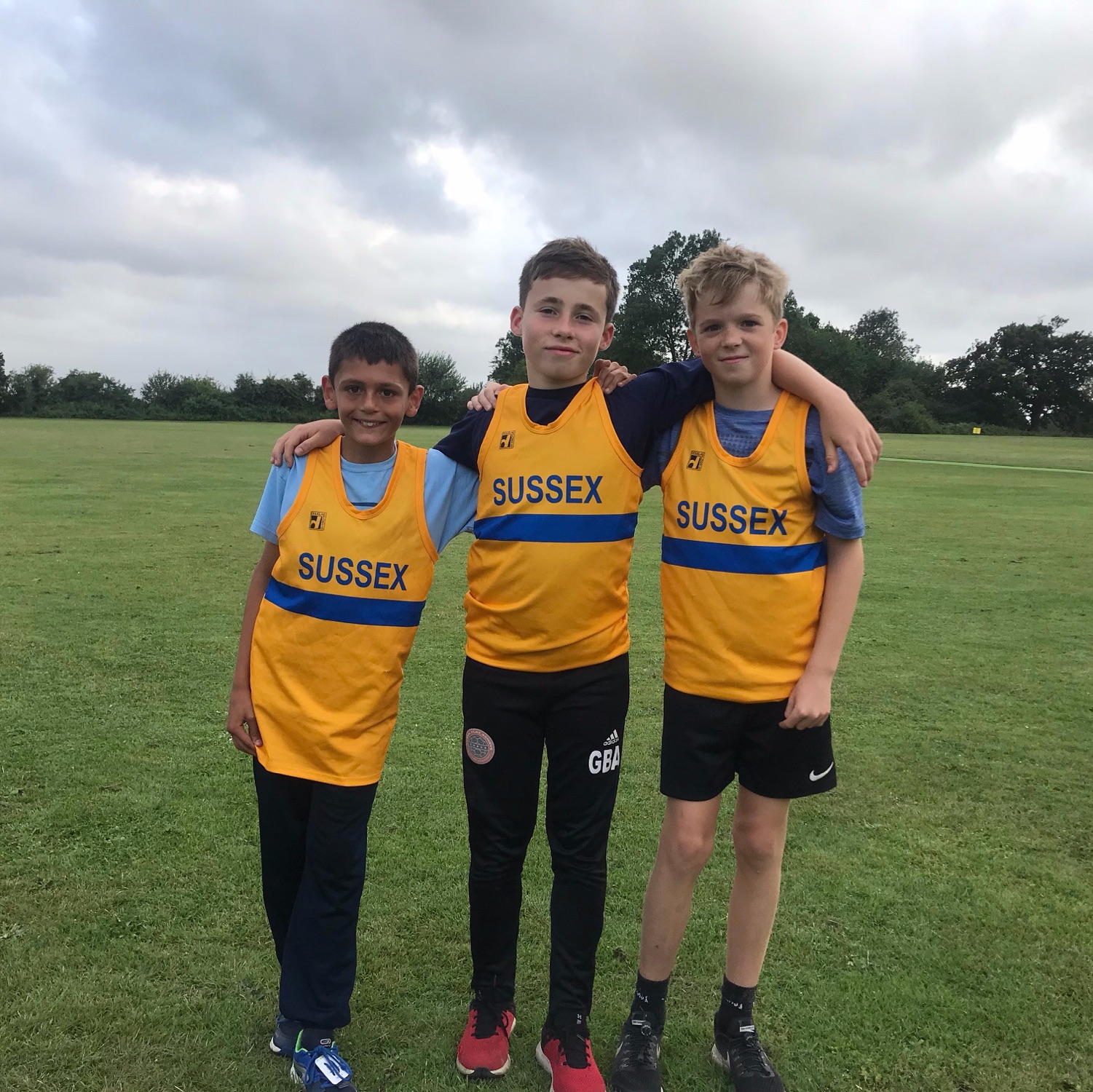 U13 Harriers selected to represent Sussex