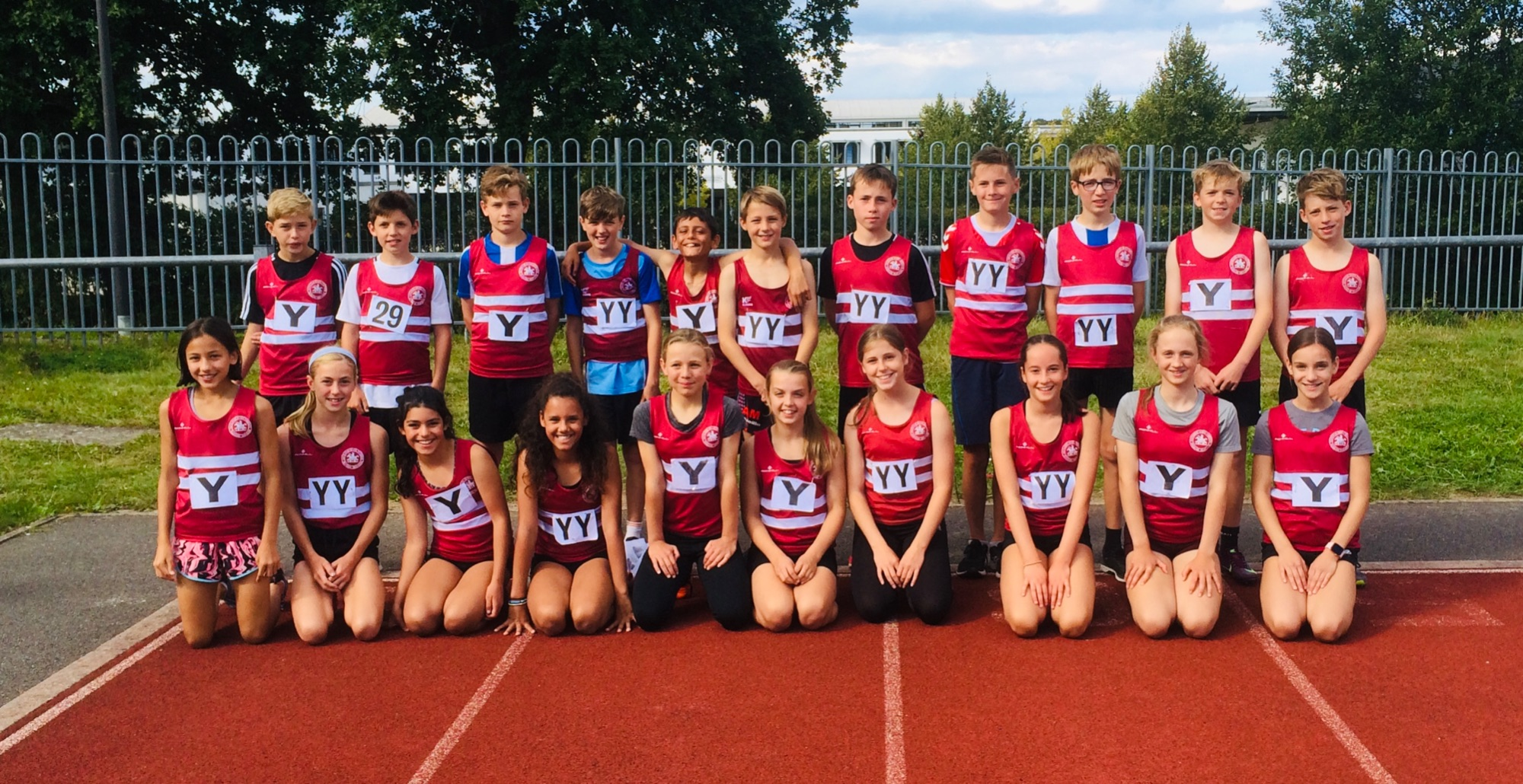 U13 Sussex Track and Field finals Sep 2019