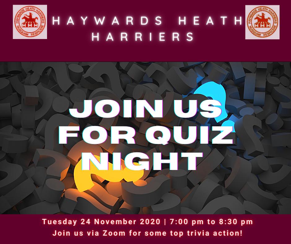 HHH Quiz Night Facebook