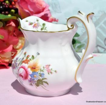 Royal Crown Derby Posies Half Pint Milk Jug c.1972