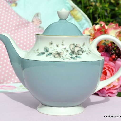 Royal Doulton Rose Elegans Teapot c.1960s