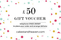 buy a gift voucher at Cake Stand Heaven