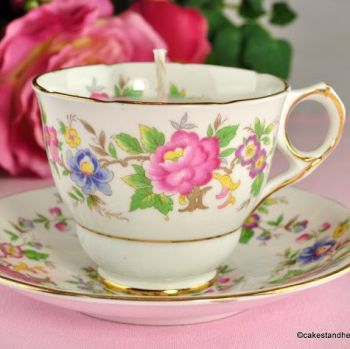 Royal Stafford Rochester Vintage Teacup Candle Jasmine Scent