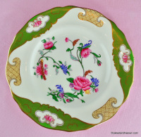 Bishop and Stonier Enamelled 22cm Plate c.1930s